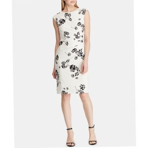 NWT. Lauren Ralph Lauren Women's Sheath Dress.